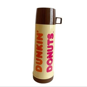 DUNKIN DONUTS Vtg COFFEE INSULATED THERMOS